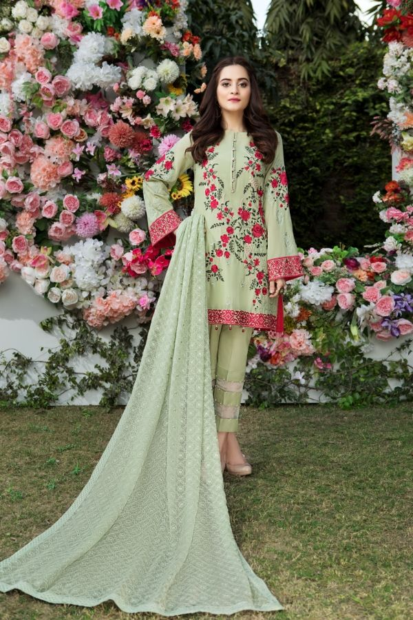 f0a320cd86 Saison De L'Amour Embroidered Lawn By Imrozia Absolutely unique and  Sophisticated style Imrozia Presenting summer lawn collection 2018 Saison  De L'Amour for ...