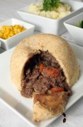 Steak and Kidney Pudding - Recipe for Steak and Kidney Pudding - Photo © stockxpert