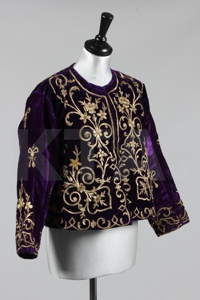 Embroidered Ottoman jacket via Kerry Taylor Auctions