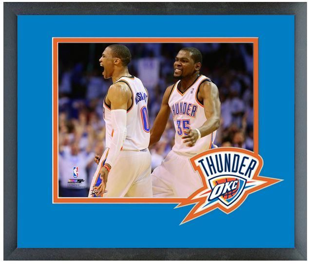 Russell Westbrook & Kevin Durant Thunder 2013-14 Playoffs