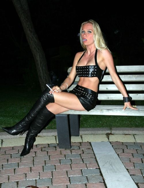 Pin On Clothing - Shiny, Latex, Leather, Boots-8729