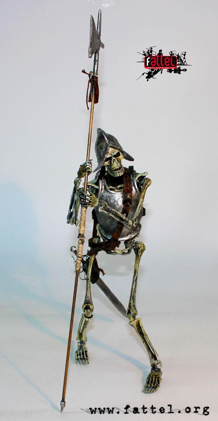 action figure the human skeleton 1:6