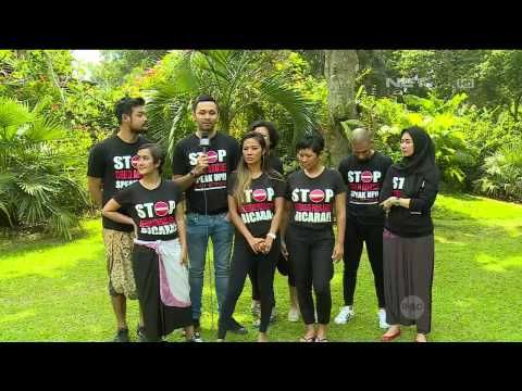 Aksi Para Selebriti Tanah Air Kampanyekan Stop Kekerasan Anak - YouTube