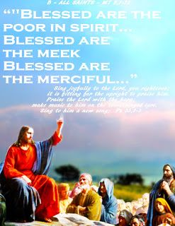 THE WORD OF  THE LORD -  GOSPEL YEAR B: B - ALL SAINTS
