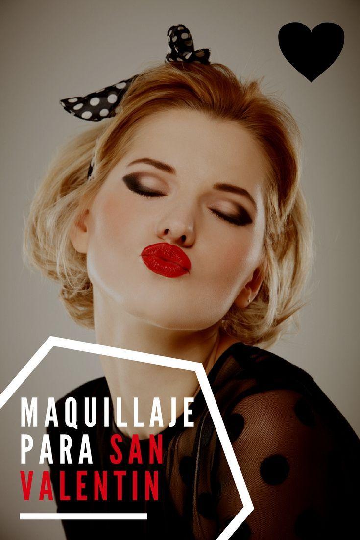 Sí aún no sabes cómo maquillarte para tu cita de San Valentín, aquí te mostramos diversos estilos y te guiamos paso a paso. | Maquillaje de noche para San Valentín | Tips de maquillaje | #makeup #maquillaje