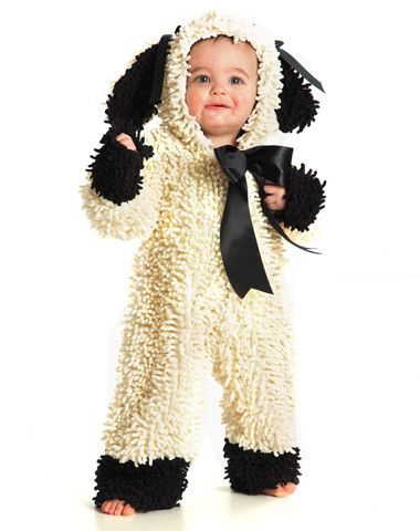 Wooly Lamb Baby Costume