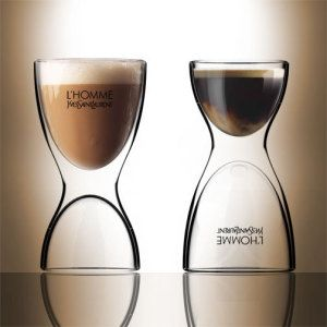Impresso 2 In 1. It's A Double Wall Coffee And Espresso Glass Serve An Espresso Early In The Morning, Serve A Coffee Later In The Day.