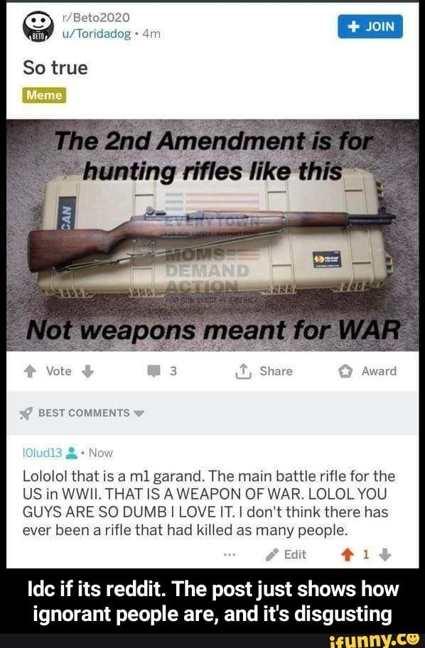 Idc If Its Reddit The Post Just Shows How Ignorant People Are And It S Disgusting Ifunny Ignorant People Memes Reddit Memes