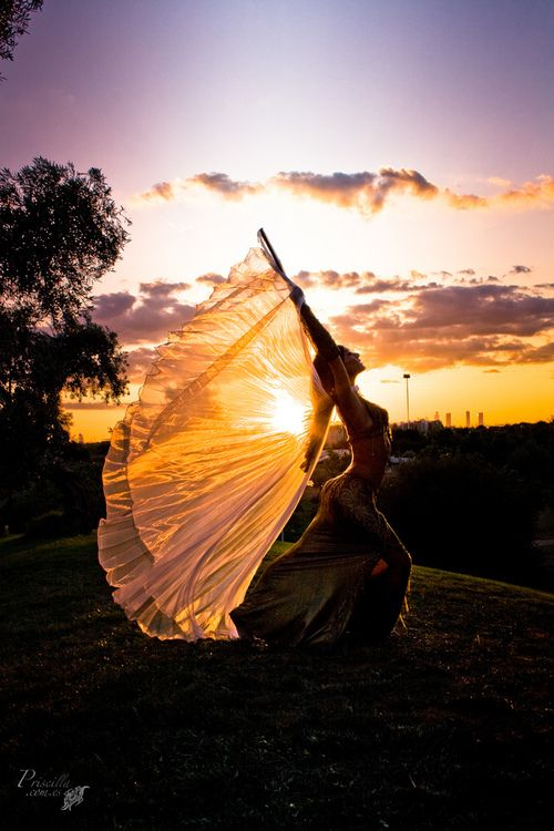 Super excited to take up bellydance again -- maybe this time I'll actually get good at it...