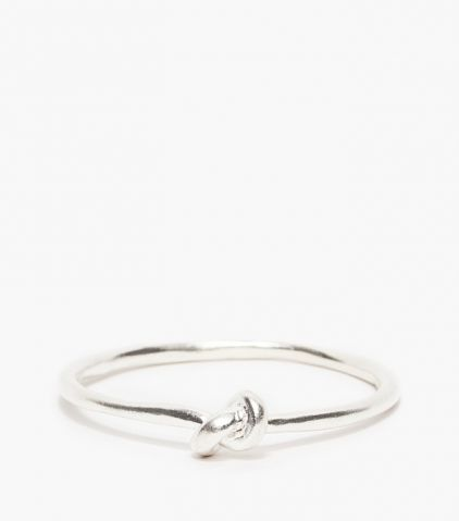 Layered: Drift Riot knot bangle / Garance Doré