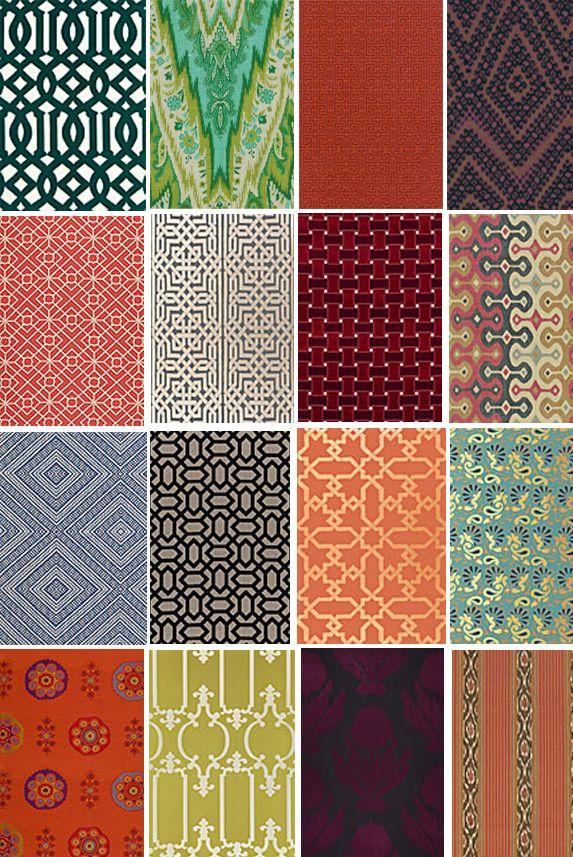 Moroccan Print | Fabrics | Pattern