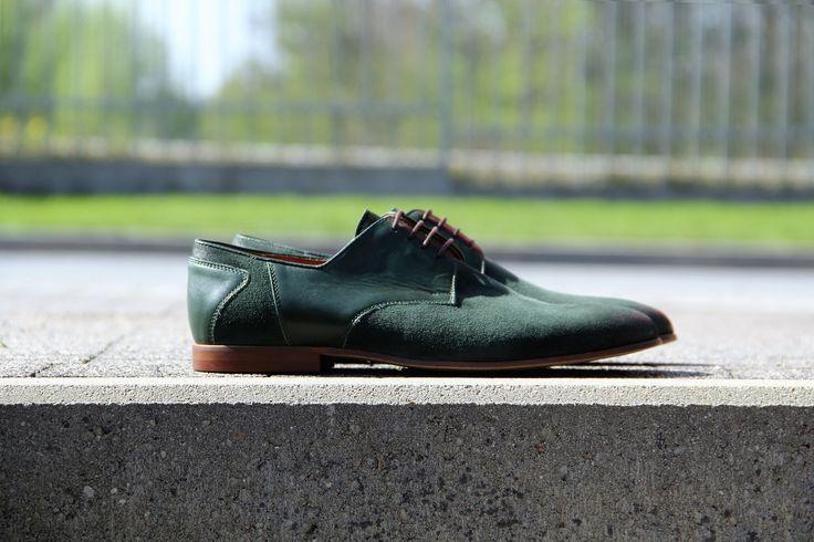Urban style. #genuineleather #derbyshoes  #handmade
