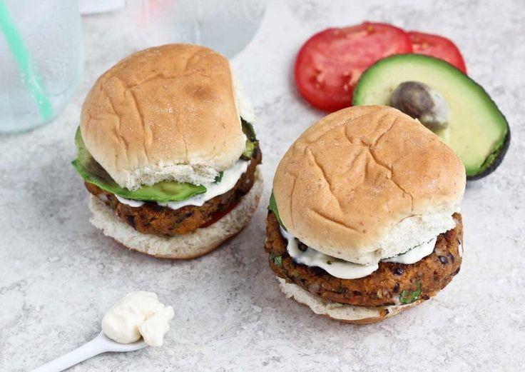 Recipe: Sweet Potato Black Bean Burgers