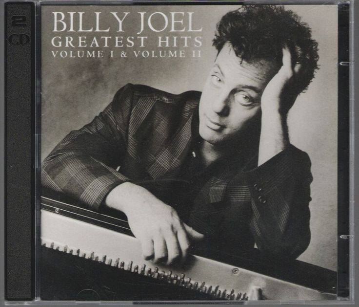 Greatest Hits, Vols. 1-2 (1973-1985) by Billy Joel (CD, 1985, 2 Discs, Columbia #HardRock