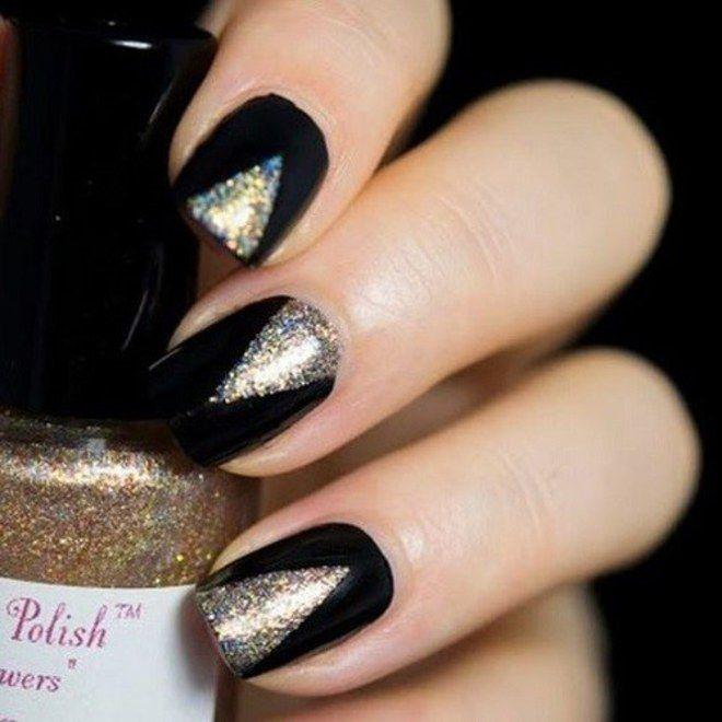 Manicure! Inspiração de make, penteados e unhas brilhantes