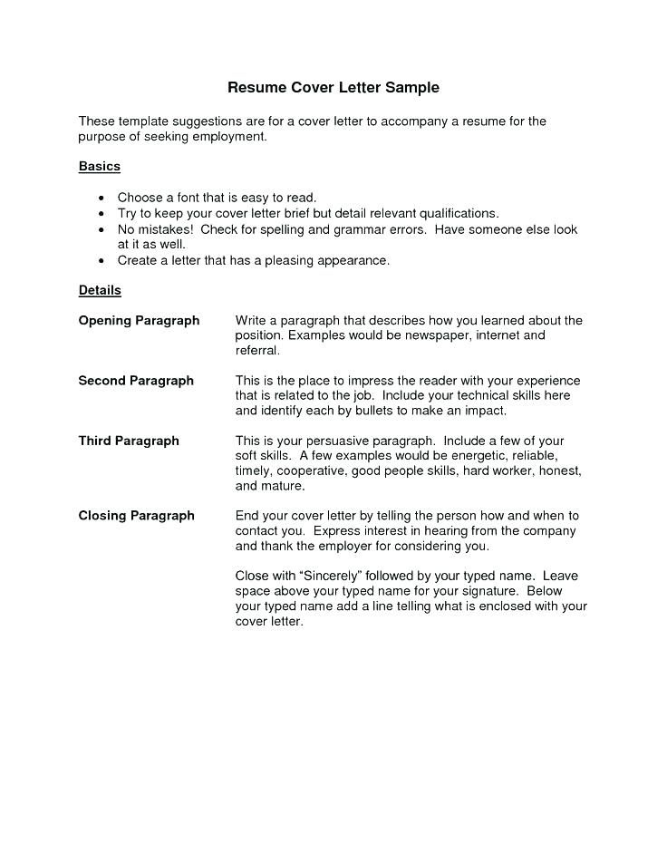 Resume Cover Letter Ideas Resume Letter Sample Collection Of