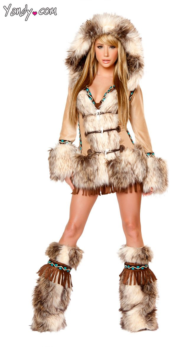 The Eskimo Deluxe Costume - Could Pass for GOT Ygritte with a little work.