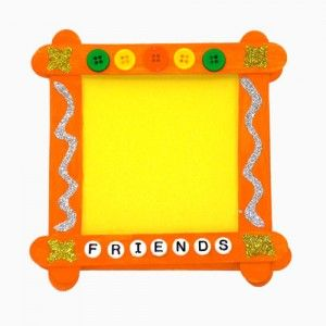 Halloween Party Magnetic Picture Frame Craft For Halloween Costume Pictures