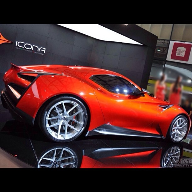 Icona Vulcano Supercar Revealed At The Shanghai Motor Show