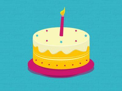 Birthdaycake dribbblewall