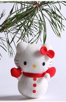 Hello Kitty Christmas Tree Decor