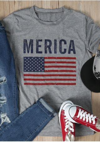 American Flag 'Merica T-Shirt