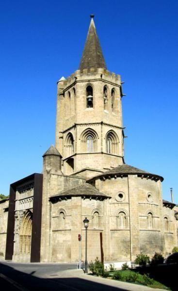 Santa María la Real.  Sangüesa, Navarra.