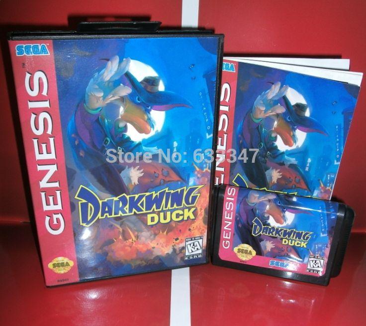 Sega карточных игр - черный плащ с коробкой и руководство для Sega MegaDrive игровая консоль системы 16 бит MD карты