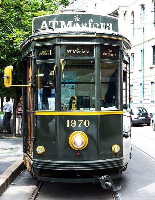 Tram - ATMosfera - Milan, Italy #wonderfulexpo2015 #wonderfulmilan