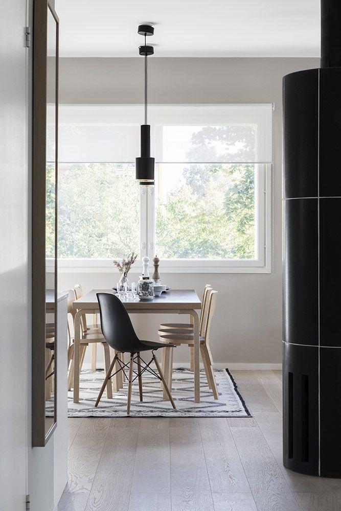 Ruokailutila / dining area, Scandinavian interior