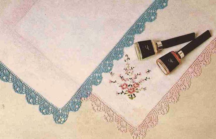 "Patrón #332: Pañuelo ""Retro"" a Crochet #ctejidas http://blgs.co/s887M4"
