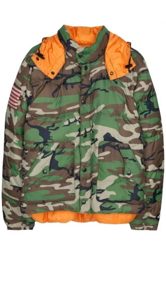 Polo Denim & Supply militaire jacket
