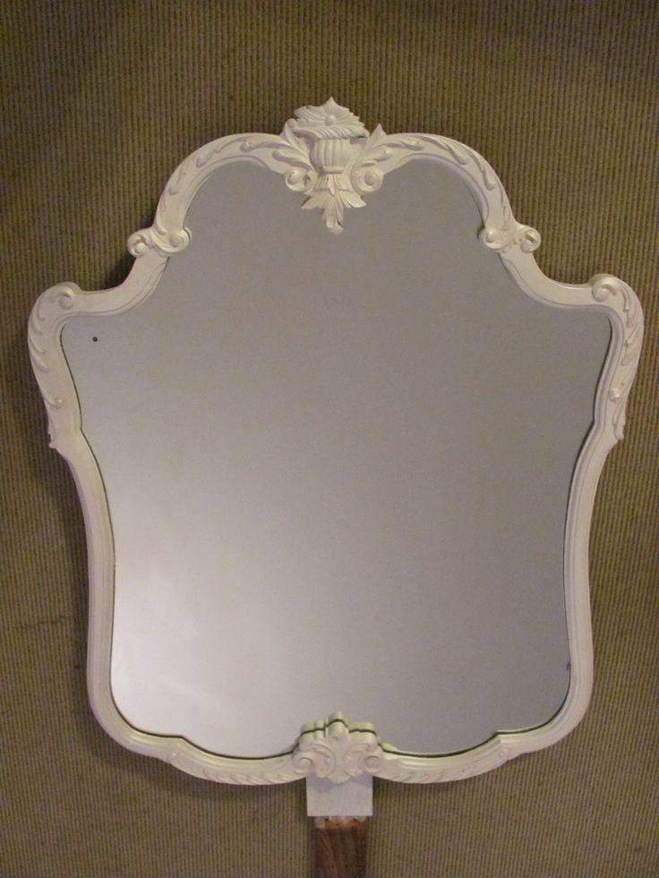 Old vanity mirror repurpose.