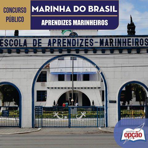 Apostila Concurso Marinha do Brasil / MB - 2016: - Cargo: Aprendiz de Marinheiro