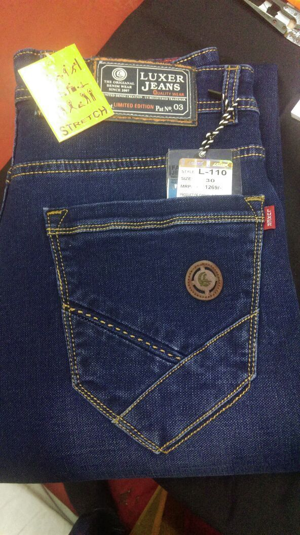 New Men jeans added by #LUXER jeans #Manufacturer of readymade Garments From Delhi.Wholesalers can direct Contact Him. Click Here For More Details www.urbiz.co.in/ #UrBiz #Textile #garments #Manufacture #wholesaler #delhi #GarmentOnlinePortal #GandhiNagar #jeans #kolkata