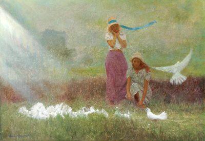 white doves - Odysseas Oikonomou