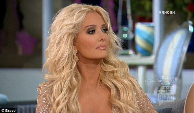 'Women my age are coming up to me and saying ''pat the puss'',' she joked, before demonstrating the Jamaican dance hall move for all to see.  Lighter note: Season six newcomer Erika Girardi talked about her alter ego Erika Jayne