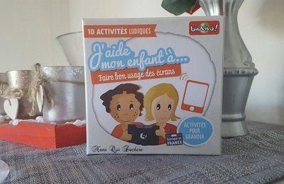 J'aide mon enfant à faire bon usage des écrans - Bioviva - Test jeu