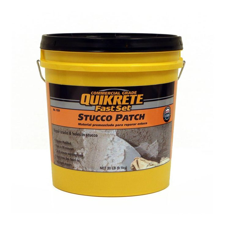 Quikrete 20 lb. FastSet Stucco Patch