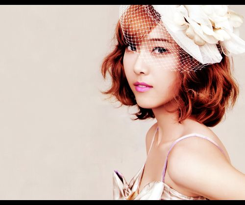 Best Short Hair Style Images On Pinterest Hair Cut Hairdos - Curly short hair kpop