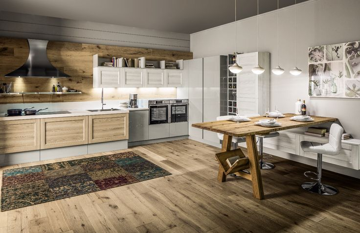 La cucina ad angolo di Arrex: bella e funzionale