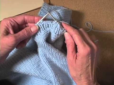how to add buttonholes in knitting