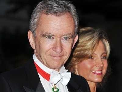 #8 Bernard Arnault & family, 33.5 Billion