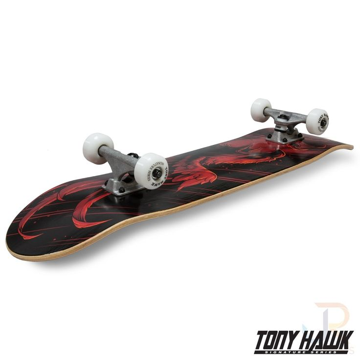 Tony Hawk 360 Series Complete Swoop Red 8.0 Inch