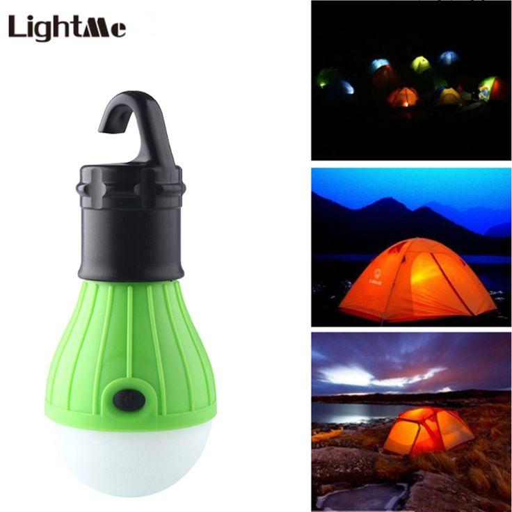 LightMe 4 Colors Outdoor LED Camping Lantern Lamp Soft Light LED Camp Night  Lights Bulb Lamp Tent Fishing Hanging Lighting #Affiliate