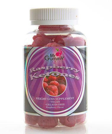 This Raspberry Mr. Gummy Ketones Supplement - Adult is perfect! #zulilyfinds