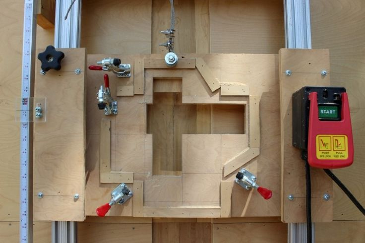 This Is A Diy Panel Saw That I Built Myself It Was