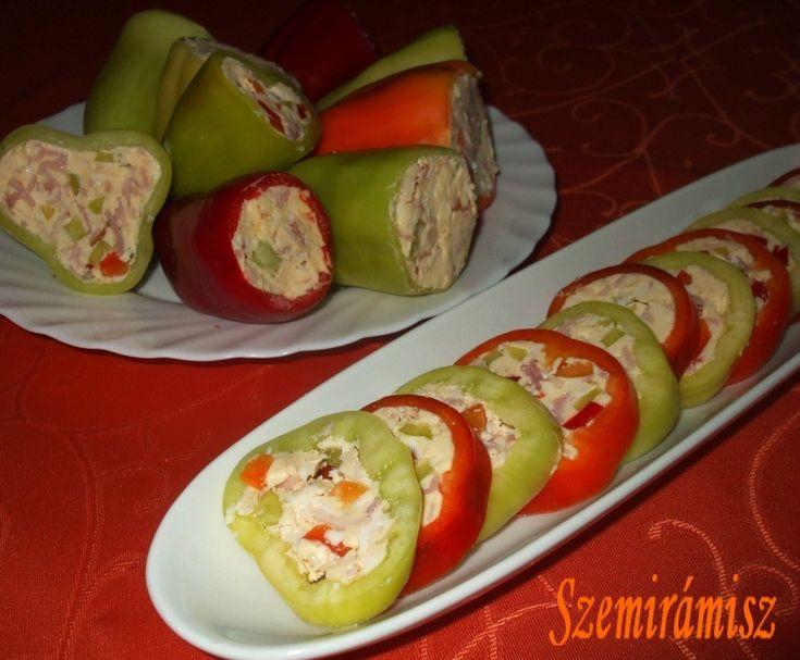 Húsvéti töltött paprika - nagyon gyorsan elkészíthető , de mégis nagyon dekoratív és finom - MindenegybenBlog