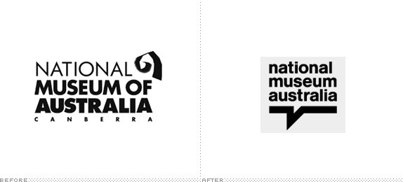 NMA Logo, Before and After