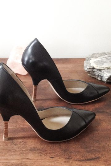 The V-Heel- If only I could wear these to the playground...: Playground, Emerson Fry S, Emersonmade Black, Sold Out V Heels, Black Heels, Emerson Fry Want, Fry V Heels, Shoestyle Bags